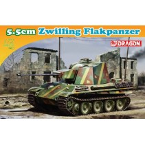 Dragon D7488 5.5cm Zwilling Flakpanzer 1/72