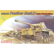 Dragon D7506 Sd.Kfz.171 Panther Ausf.D Late Production 1/72