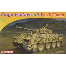 Dragon D7508 Berge Panther mit Pz.IV Turm 1/72