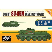 Cyber-Hobby Soviet SU-85M Tank Destroyer D9152