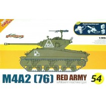Cyber-hobby M4A2 (76) Red Army w/Maxim machine gun D9154