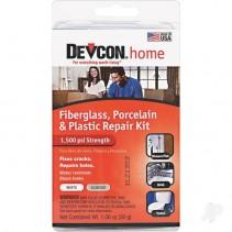 Devcon Fibreglass, Porcelain and Plastic Repair Kit 30g DEV90216