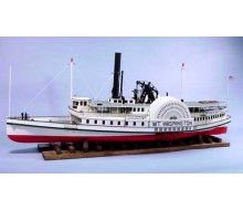 Dumas Mt. Washington Paddle Steamer Kit 1235
