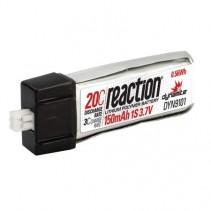 Dynamite Reaction 3.7V 150mAh 1S 20C LiPo DYN9101