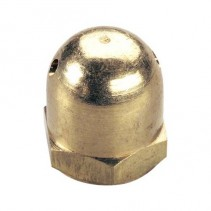 Great Planes Spinner Nut 1/4-28 Brass Heavy GPMQ4640