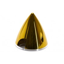 Irvine Spinner 75mm Metallic Yellow E-IRVSPIN75MY