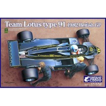 Ebbro Team Lotus Type 91 (1982) British GP E012