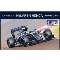 Ebbro McLaren Honda MP4-31 1/20 E018