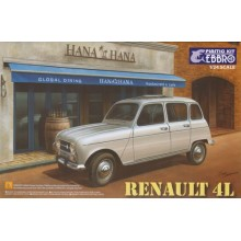 Ebbro E25002 Renault 4L Model Kit 1/24