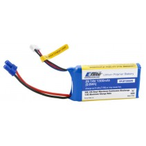 E-Flite EFLB8003SJ30 800mah 3S 11.1volt 30C LiPo Battery 18Ga with JST Connector