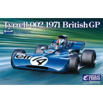 Ebbro Tyrrell 002 British GP 1971 E008 1/20