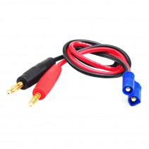 EC3 to Banana Plug 4 mm Battery Charge Cable