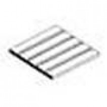 """V-Groove .188"""" Spacing (4.8mm) .040"""" Thick (1.0mm)"""