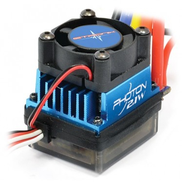 Etronix Photon 2.1W 60AMP Splashproof Brushless ESC ET0126