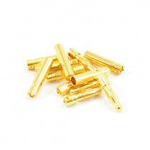 Etronix 4mm Gold Connectors (6pr male/female) ET0607