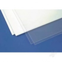 Evergreen 6x12in (15x30cm) White Sheet .030in Thick x2 EVG9030