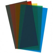 EVG9905 6x12in (15x30cm) Transparent Coloured Sheet .010in Thick Assorted