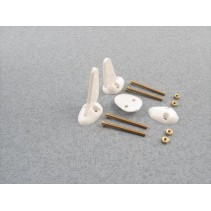 Small Control Horns w/Screws (2) F-RCA108