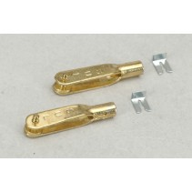 Sullivan 4-40 Gold N Clevises x 2 F-SLN526