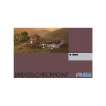 Fujimi F36039 Bridge & Checkpoint Set 1/76