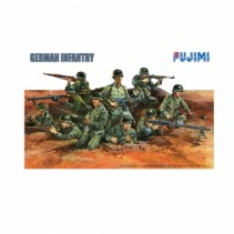 Fujimi F76025 German Infantry Set 1/76