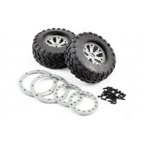 Fastrax 1:10 SC Sabre Tyre on Beadlock Wheels (12mm) FAST0056G