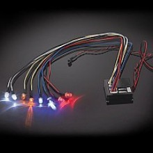FASTRAX Flashing Light Kit Multiple Functions 8-LED Lights FAST197