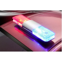 Fastrax Police Rooflight Set w/LED's FAST2227