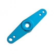 Fastrax Servo Arm w/inserts blue alu double FAST38B