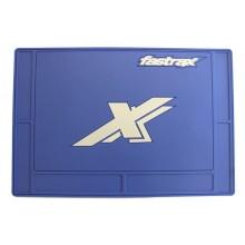 Fastrax Large Pit Mat 70x50cm BLUE FAST413L-BL