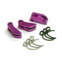 Fastrax Purple Heavy Aluminium Clutch Shoe FAST900