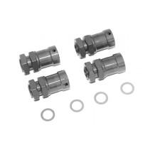 Fastrax 1/8 15mm Extension Hub Adaptors - To Widen Track FAST920