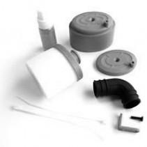 Fastrax Waterproof Air Filter 1/8 Black FAST93BK