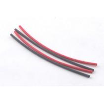 Fastrax 1.6mm Heatshrink Red / Black (4)