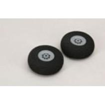 """Foam Wheels - 76mm/3"""" (Pk2)"""