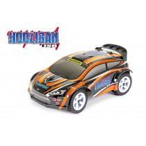 FTX Hooligan JNR 1/28 RTR Rally Car ORANGE FTX5526O