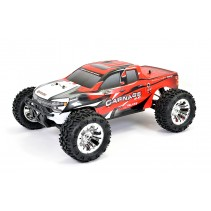 FTX CARNAGE 2.0 1/10 BRUSHED TRUCK 4WD RTR - RED FTX5537R