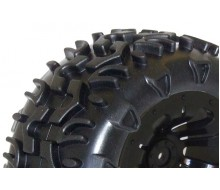 FTX Carnage Mounted Wheel/Tyre Complete Pair Black FTX6310B