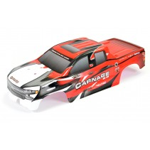 FTX Bodyshell Red 2.0 Printed FTX Carnage FTX6345R
