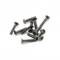 FTX Countersunk Self Tapping Screw 2.6x12mm (12)