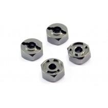 FTX Surge Aluminium Wheel Hex Set (4) FTX7331