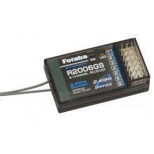 Futaba 6ch Rx 2.4GHz S-FHSS (Air) P-R2006GS/2-4G