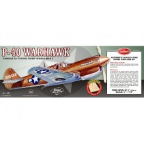 Guillows P-40 Warhawk G405
