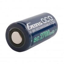 Gensace Battery NimH 1.2V SC2700 MaH GE2-2700
