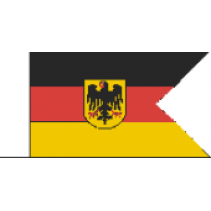 Germany Naval Ensign AA 15mm D02 (2) Fabric Flag
