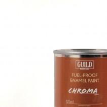 Guild Materials Gloss Enamel Fuel-Proof Paint White (125ml Tin) GLDCHR6200