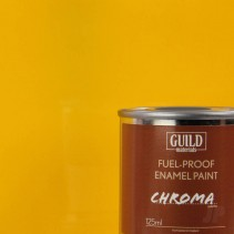 Chroma Gloss Enamel Fuel-Proof Paint Cub Yellow  (125ml Tin) GLDCHR6202