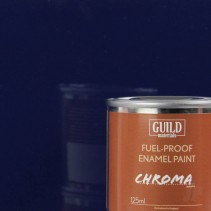 Chroma Gloss Enamel Fuel-Proof Paint Dark Blue (125ml Tin) GLDCHR6204