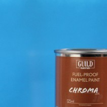 Chroma Gloss Enamel Fuel-Proof Paint Light Blue (125ml Tin) GLDCHR6205