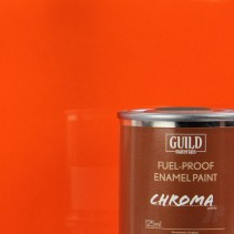 Guild Materials Gloss Enamel Fuel-Proof Paint Orange (125ml Tin) GLDCHR6206